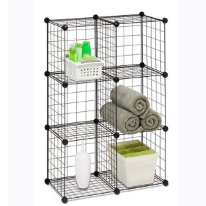 metal-mesh-cube-storage-organizer-with-wire
