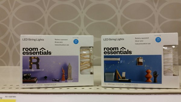 LED Lights from Target 5.99/box